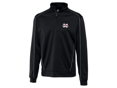Mississippi State Bulldogs Cutter & Buck NCAA Men'sCB DryTec Edge Half Zip