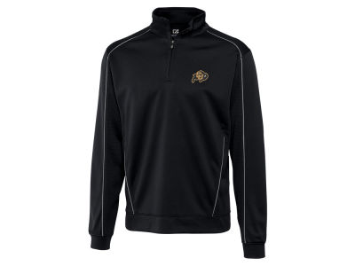 Colorado Buffaloes Cutter & Buck NCAA Men's DryTec Edge Half Zip