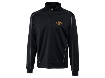 Iowa State Cyclones Cutter & Buck NCAA Men'sCB DryTec Edge Half Zip
