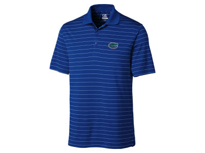 Florida Gators Cutter & Buck NCAA Men's Franklin Stripe Polo