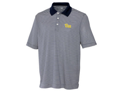 Pittsburgh Panthers Cutter & Buck NCAA Men's CB DryTec Trevor Stripe Polo