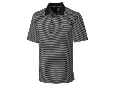 Texas A&M Aggies Cutter & Buck NCAA Men's CB DryTec Trevor Stripe Polo