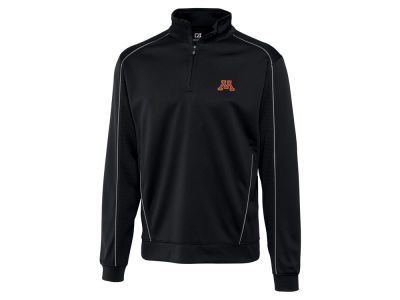 Minnesota Golden Gophers Cutter & Buck NCAA Men'sCB DryTec Edge Half Zip