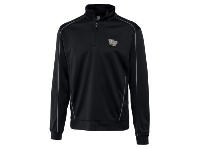 Wake Forest Demon Deacons Cutter & Buck NCAA Men'sCB DryTec Edge Half Zip