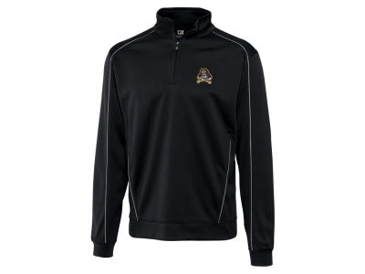 East Carolina Pirates Cutter & Buck NCAA Men'sCB DryTec Edge Half Zip