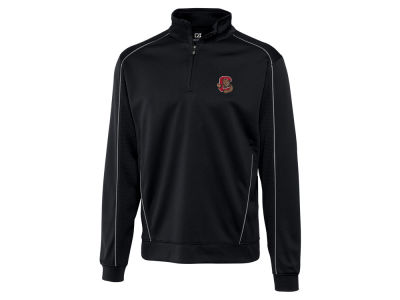 Cornell University Big Red Cutter & Buck NCAA Men's DryTec Edge Half Zip