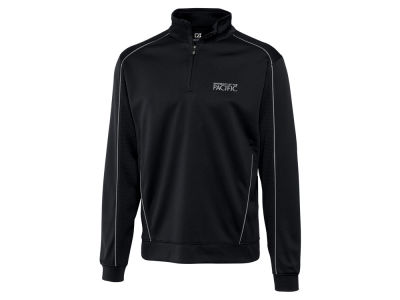 Pacific Tigers Cutter & Buck NCAA Men's DryTec Edge Half Zip