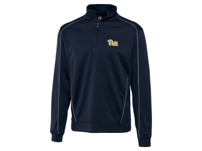 Pittsburgh Panthers Cutter & Buck NCAA Men'sCB DryTec Edge Half Zip