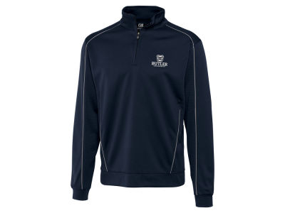 Butler Bulldogs Cutter & Buck NCAA Men'sCB DryTec Edge Half Zip