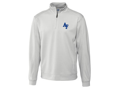Air Force Falcons Cutter & Buck NCAA Men'sCB DryTec Edge Half Zip