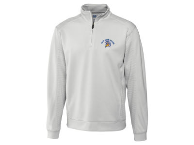 San Jose State Spartans Cutter & Buck NCAA Men's DryTec Edge Half Zip