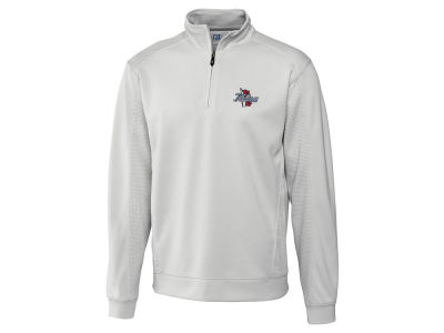 Tulsa Golden Hurricane Cutter & Buck NCAA Men'sCB DryTec Edge Half Zip