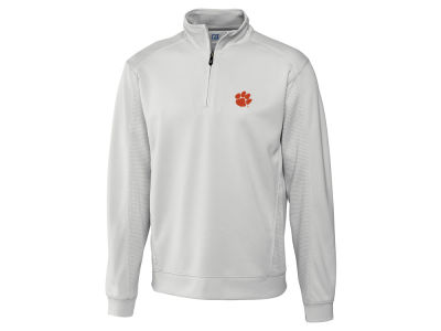 Clemson Tigers Cutter & Buck NCAA Men'sCB DryTec Edge Half Zip