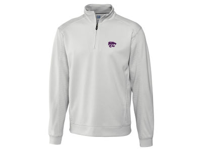 Kansas State Wildcats Cutter & Buck NCAA Men's DryTec Edge Half Zip