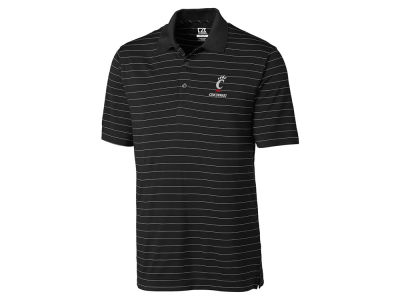 Cincinnati Bearcats Cutter & Buck NCAA Men's Franklin Stripe Polo