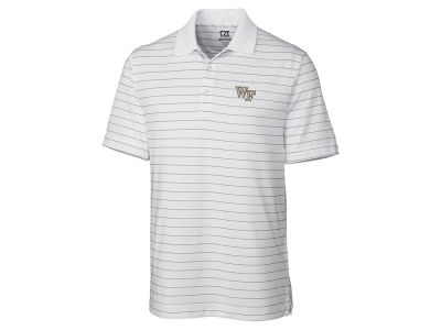 Wake Forest Demon Deacons Cutter & Buck NCAA Men's Franklin Stripe Polo