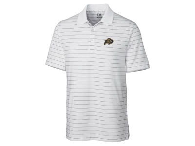 Colorado Buffaloes Cutter & Buck NCAA Men's Franklin Stripe Polo