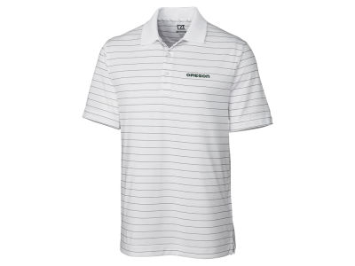 Oregon Ducks Cutter & Buck NCAA Men's Franklin Stripe Polo