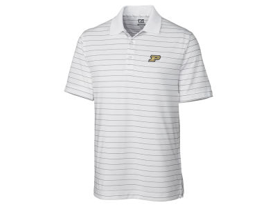 Purdue Boilermakers Cutter & Buck NCAA Men's Franklin Stripe Polo