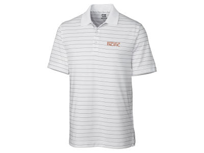 Pacific Tigers Cutter & Buck NCAA Men's Franklin Stripe Polo