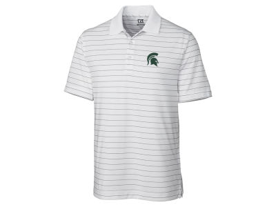 Michigan State Spartans Cutter & Buck NCAA Men's Franklin Stripe Polo