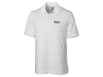 South Florida Bulls Cutter & Buck NCAA Men's Franklin Stripe Polo