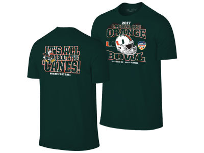 Miami Hurricanes NCAA Orange Bowl Bound T-Shirt 17