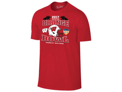 Wisconsin Badgers NCAA Orange Bowl Bound T-Shirt 17
