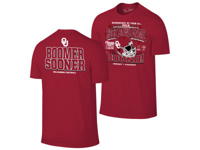 Oklahoma Sooners Retro Brand NCAA Men's Rose Bowl Bound T-Shirt