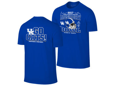 Kentucky Wildcats Retro Brand NCAA Men's Music City Bowl Bound T-Shirt