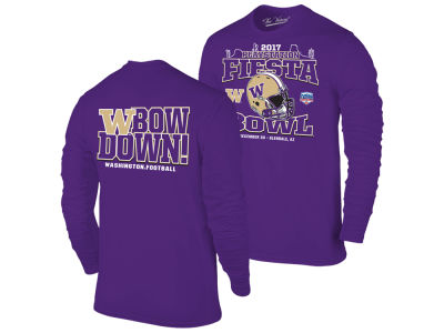 Washington Huskies Retro Brand NCAA Fiesta Bowl Bound Long Sleeve T-Shirt 2017