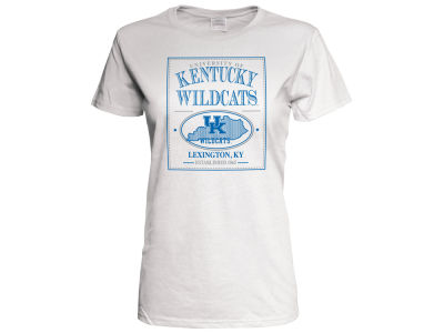 Kentucky Wildcats 2 for $28 J America NCAA Women's Poster State Etch T-Shirt