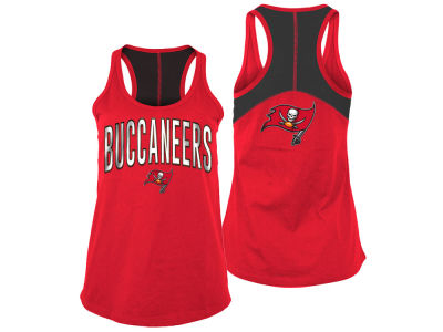 Tampa Bay Buccaneers 5th & Ocean NFL Women's Foil Colorblock Tank