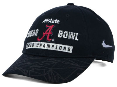 Alabama Crimson Tide Nike 2018 NCAA Sugar Bowl Champ Adjustable Cap