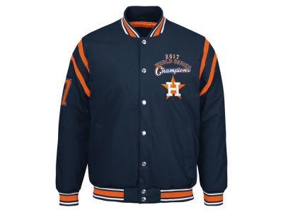 Houston Astros G-III Sports MLB Men's World Series Champion Canvas Jacket