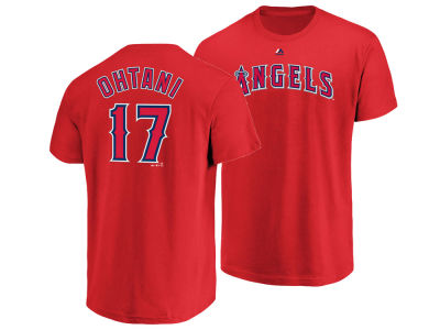 Los Angeles Angels Shohei Ohtani Majestic MLB Men's Official Player T-Shirt
