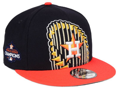 Houston Astros New Era MLB Houston Champs Custom 9FIFTY Snapback Cap