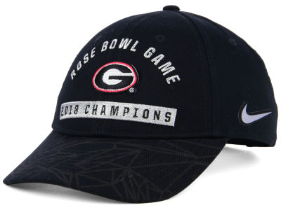 Georgia Bulldogs Nike 2018 NCAA Rose Bowl Champ Locker Room Hat