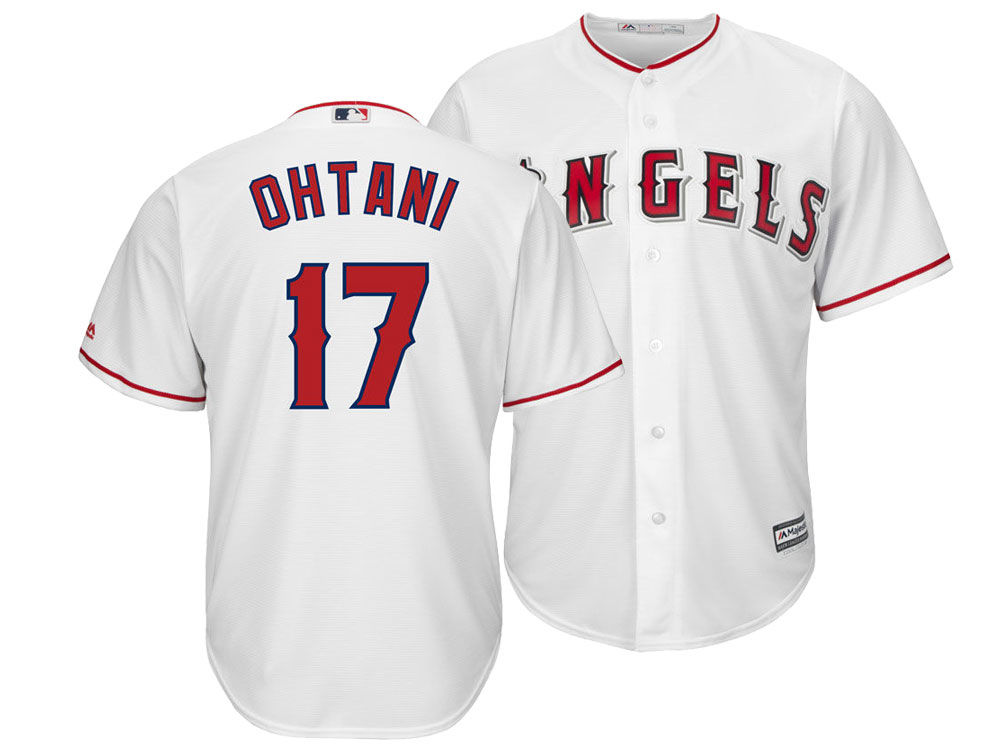 f135d1ee3 Los Angeles Angels Shohei Ohtani Majestic MLB Men s Player Replica Cool  Base Jersey