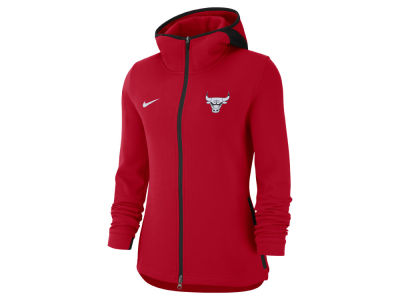 Chicago Bulls Nike NBA Women's Showtime Full Zip Hoodie