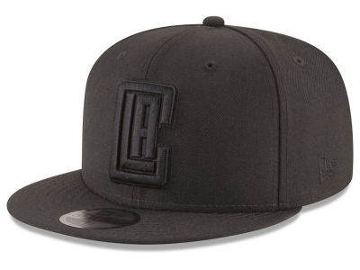 Los Angeles Clippers New Era NBA Blackout 59FIFTY Cap