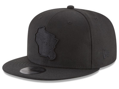 Milwaukee Bucks New Era NBA Blackout 59FIFTY Cap