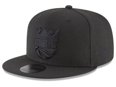Sacramento Kings New Era NBA Blackout 59FIFTY Cap