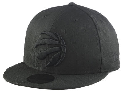 Toronto Raptors New Era NBA Blackout 59FIFTY Cap