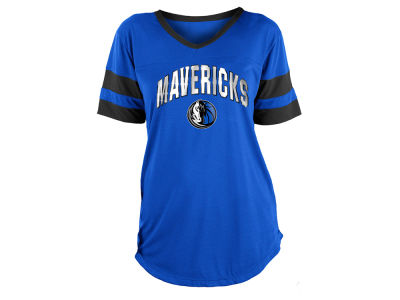 Dallas Mavericks 5th & Ocean NBA Women's Mesh T-Shirt