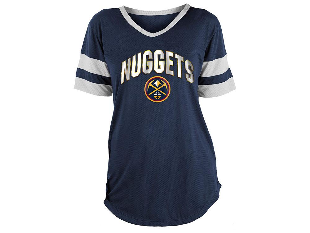 Denver Nuggets 5th   Ocean NBA Women s Mesh T-Shirt  bc81282159