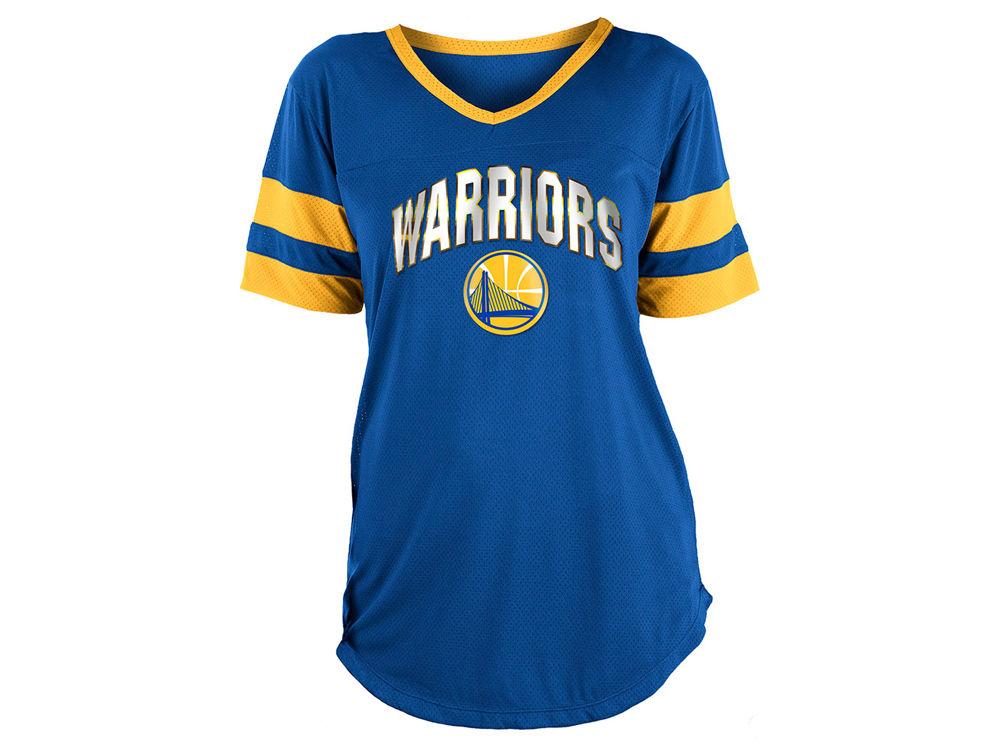 Golden State Warriors 5th   Ocean NBA Women s Mesh T-Shirt  cb26dfc91d