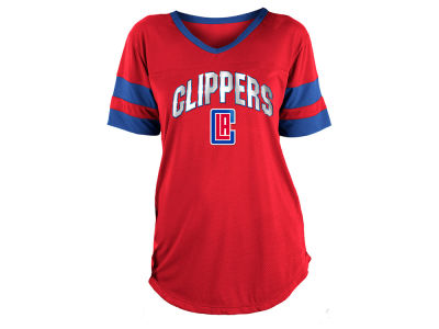 Los Angeles Clippers 5th & Ocean NBA Women's Mesh T-Shirt