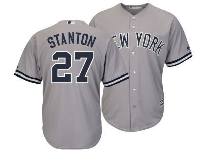 New York Yankees Giancarlo Stanton Majestic MLB Men's Player Replica Cool Base Jersey