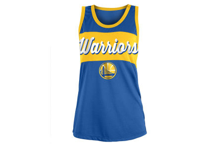 Golden State Warriors 5th & Ocean NBA Women's Mesh Tank
